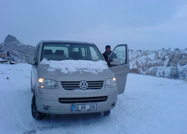 With my Vw Caravelle