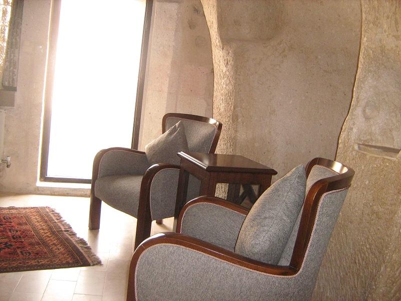 Living room view Cappadocia Lodge