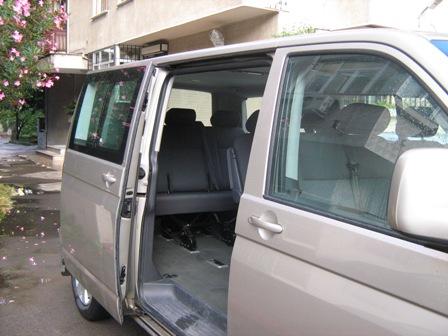 vw caravelle passenger compartment power sliding door