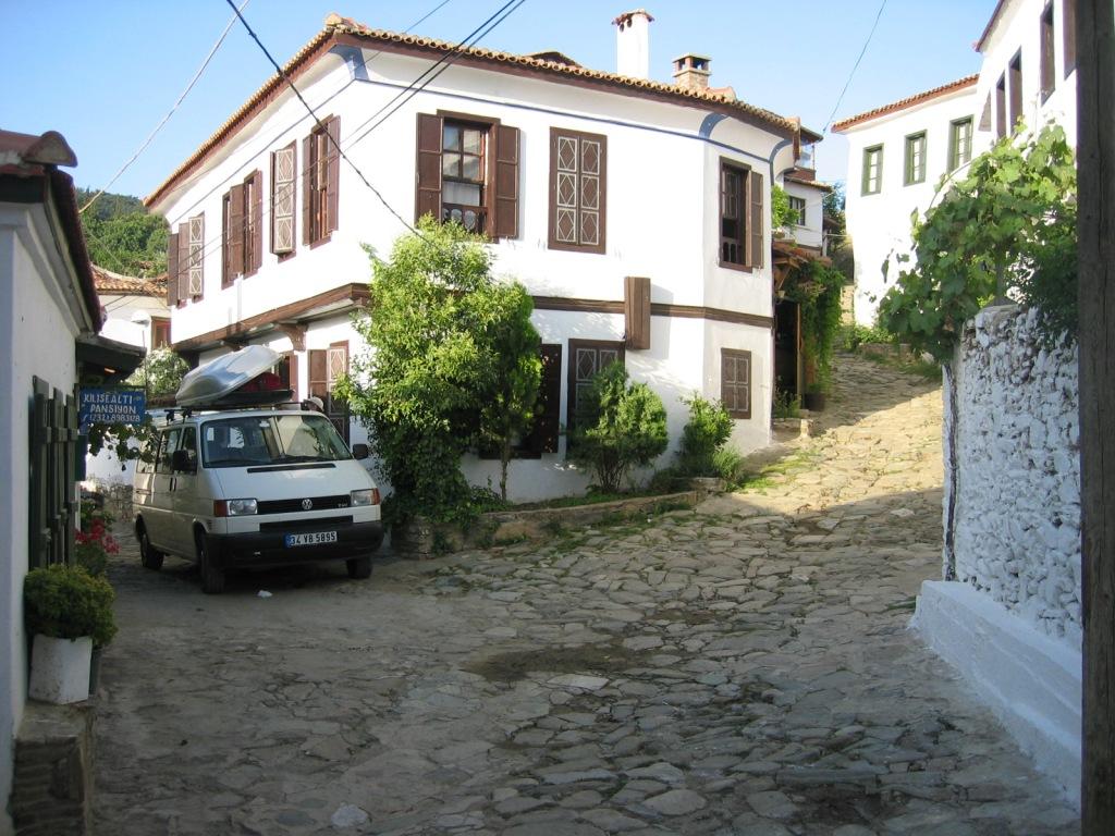 My old Vw T4 transporter minivan in Sirince village