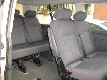my vw caravelle's passenger seats