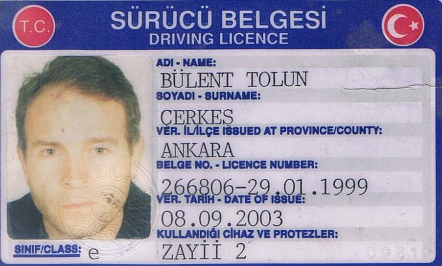 My e class driving license