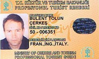 My guiding license